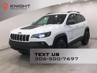 New 2021 Jeep Cherokee Trailhawk Elite 4x4   Leather   Navigation   Sunroof   for sale in Regina, SK