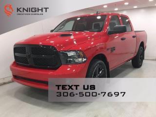 New 2021 RAM 1500 Classic Express Night Edition Crew Cab | Sub Zero Package | for sale in Regina, SK