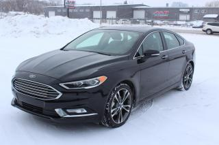Used 2018 Ford Fusion Titanium LEATHER SUNROOF AWD for sale in Regina, SK