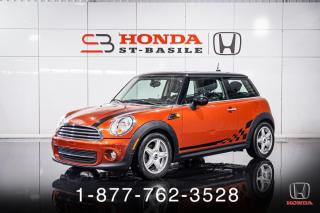 Used 2012 MINI Cooper Hardtop HATCHBACK + MANUEL + A/C + CRUISE + WOW! for sale in St-Basile-le-Grand, QC