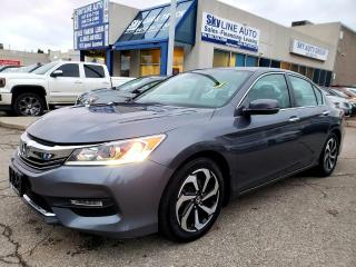 Used 2016 Honda Accord EX-L LANE ASSIST|LEATHER|ONE OWNER|CERTIFIED for sale in Concord, ON