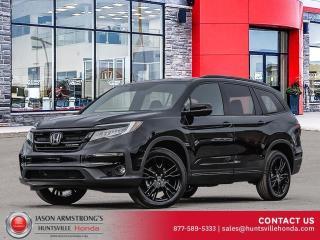 New 2021 Honda Pilot Black Edition for sale in Huntsville, ON