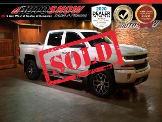 Used 2018 Chevrolet Silverado 1500 LT Z71 - Big Looks & Big Upgrades !! for sale in Winnipeg, MB