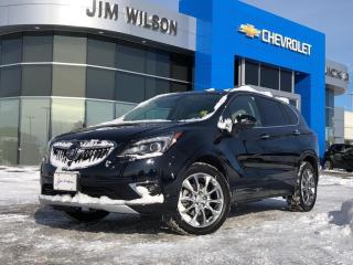 Used 2020 Buick Envision Premium II AWD PREMIUM II 2.0L ROOF NAV P.LIFTGATE LEATHER for sale in Orillia, ON