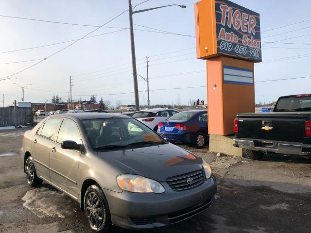 2003 Toyota Corolla CE**RUNS&DRIVES GREAT**ONLY 176KMS**AS IS SPECIAL