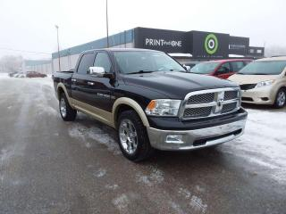 Used 2011 RAM 1500 Laramie 4x4 Crew Cab 5.6' Bed 140.5 in. WB for sale in Steinbach, MB