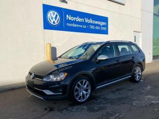 Used 2017 Volkswagen Golf Alltrack ALLTRACK FULLY LOADED DSG - CERTIFIED! for sale in Edmonton, AB