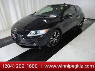Used 2014 Honda CR-Z Hybrid Premium Pkg *Always Owned In MB!* for sale in Winnipeg, MB