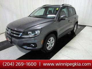 Used 2017 Volkswagen Tiguan Trendline *Accident Free And Always Owned In MB!* for sale in Winnipeg, MB