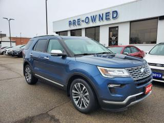 Used 2018 Ford Explorer Platinum for sale in Brantford, ON