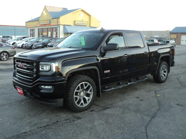 2017 GMC Sierra 1500 SLT CrewCab ALL TERRAIN 4x4 5.3L 6.5ftBox Leather