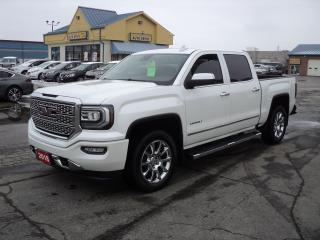 Used 2018 GMC Sierra 1500 Denali CrewCab 4x4 5.3L 5.5ftBoxLeatherNavRoof for sale in Brantford, ON