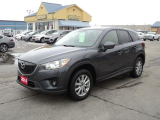 Used 2014 Mazda CX-5 GS 2.5L AWD HeatedSeats Roof BackCam for sale in Brantford, ON