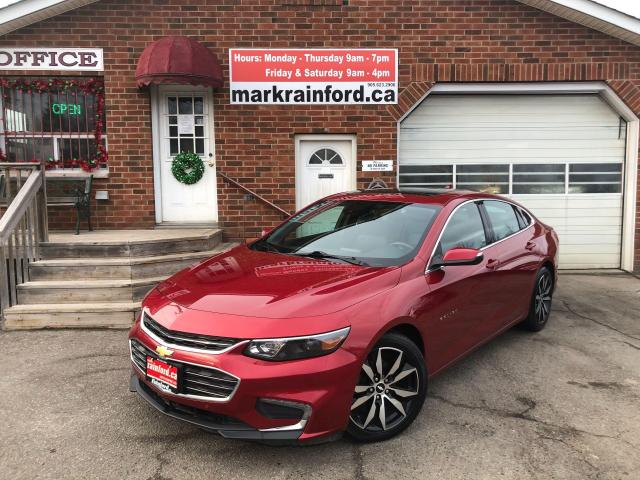 2016 Chevrolet Malibu LT Leather Pano Roof Back Up Cam Rm Start