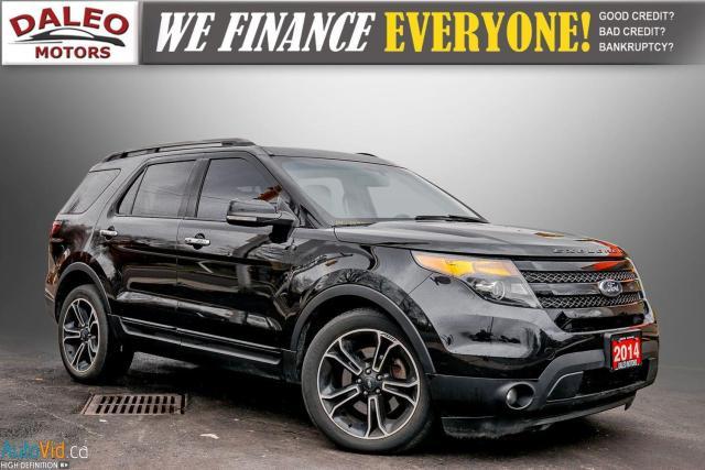 2014 Ford Explorer Sport 4X4 / SPORT / LEATHER / NAVI / FULLY LOADED /