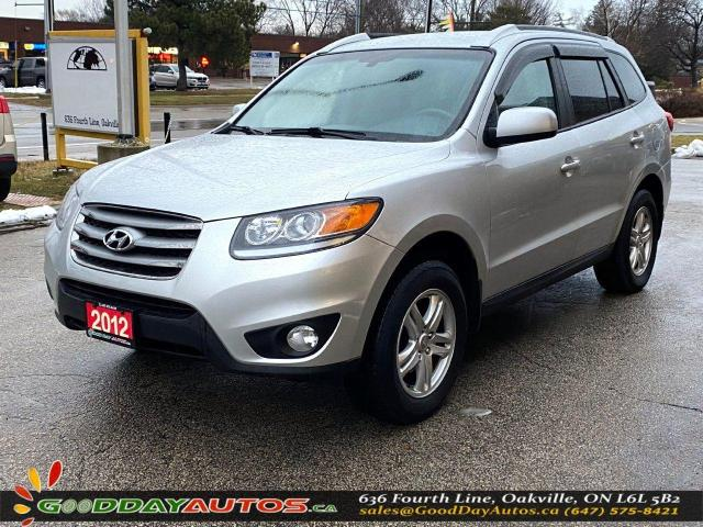 2012 Hyundai Santa Fe GL|LOW KM|NO ACCIDENT|SINGLE OWNER|AWD|CERTIFIED