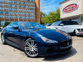 Used 2016 Maserati Ghibli NAVI | CAM | ROOF | B.S.M | AWD | 404 HP | S Q4 | for sale in Scarborough, ON