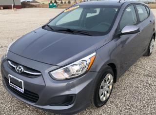 Used 2017 Hyundai Accent GL for sale in Windsor, ON