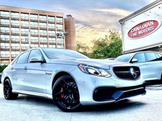 Used 2014 Mercedes-Benz E63 AMG E63S AMG ON FORGED WHEELS!   577HP for sale in Scarborough, ON