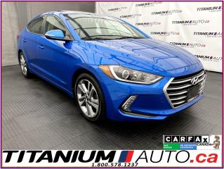 Used 2017 Hyundai Elantra GLS+Sunroof+Camera+Blind Spot+Heated Seats+Wheel for sale in London, ON