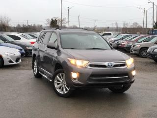 Used 2013 Toyota Highlander Hybrid Hybrid Sport for sale in Oakville, ON
