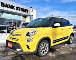 Used 2015 Fiat 500 L Trekking for sale in Gloucester, ON