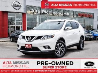Used 2016 Nissan Rogue SL Prem.   Leather   PWR Lftgate   Navi   BSW for sale in Richmond Hill, ON