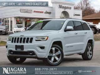 Used 2016 Jeep Grand Cherokee Overland for sale in Niagara Falls, ON