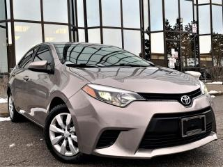 Used 2014 Toyota Corolla LE 4 Cylinder Automatic for sale in Brampton, ON