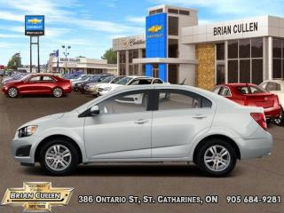 Used 2012 Chevrolet Sonic LS  - Low Mileage for sale in St Catharines, ON