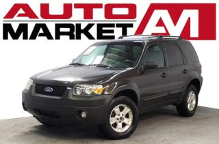 Used 2007 Ford Escape XLT 4WD Certified! AWD! We Approve All Credit! for sale in Guelph, ON