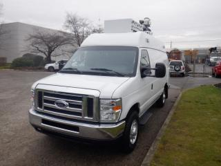 Used 2012 Ford Econoline E-350 Super Duty Extended Broadcast Cargo Van for sale in Burnaby, BC