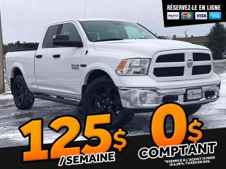 Used 2018 RAM 1500 OUTDOORSMAN QUAD CAB 4X4 6 PI 4 PO for sale in St-Malachie, QC