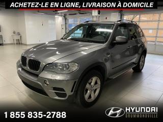 Used 2012 BMW X5 35I X-DRIVE + GARANTIE + NAVI + TOIT + W for sale in Drummondville, QC