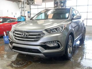 Used 2017 Hyundai Santa Fe Sport LUXURY AWD ALERTES SÉCUR TOIT PANO NAV *CUIR* for sale in St-Jérôme, QC