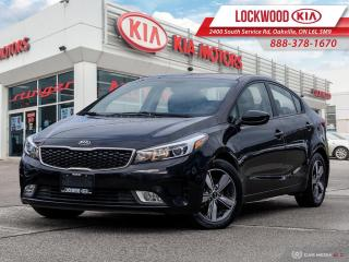 Used 2018 Kia Forte LX+ Auto - ONE OWNER, CLEAN CARFAX! for sale in Oakville, ON