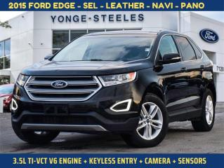 Used 2015 Ford Edge SEL for sale in Thornhill, ON