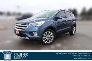 Used 2018 Ford Escape Titanium for sale in Tillsonburg, ON