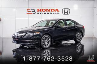 Used 2017 Acura TLX TECH + V6 + AWD + NAVI + CUIR + MAGS + W for sale in St-Basile-le-Grand, QC