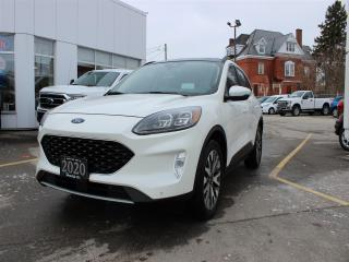 Used 2020 Ford Escape TITANIUM HYBRID AWD for sale in Hagersville, ON