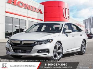 New 2020 Honda Accord Touring 1.5T HONDA SENSING TECHNOLOGIES | HEATED SEATS | GPS NAVIGATION for sale in Cambridge, ON