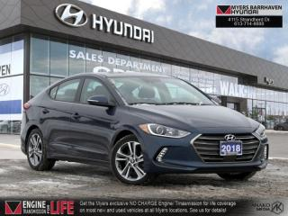 Used 2018 Hyundai Elantra GLS Auto  - Sunroof -  Leather Seats - $115 B/W for sale in Nepean, ON