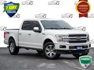 Used 2018 Ford F-150 Platinum Twin Panel Moonroof | Tech Package | FX4 for sale in St Catharines, ON