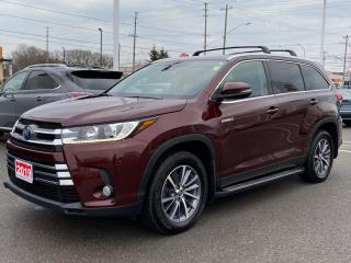 Used 2019 Toyota Highlander HYBRID HYBRID XLE+REMOTE START! for sale in Cobourg, ON