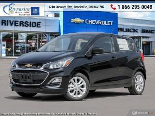 New 2021 Chevrolet Spark 1LT CVT for sale in Brockville, ON