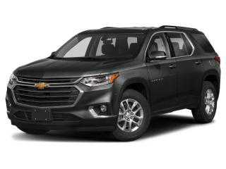 New 2021 Chevrolet Traverse LT Cloth V6 | AWD | 7 PASSENGER | REMOTE START | BLACKOUT PKG | MOBILE HOTSPOT for sale in London, ON