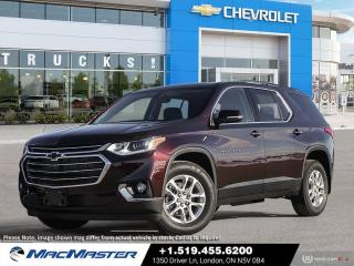 New 2021 Chevrolet Traverse LT Cloth V6 | AWD | BLACKOUT PKG | REMOTE START | HEATED STEERING | 7 PASSENGER for sale in London, ON