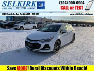 Used 2019 Chevrolet Cruze Premier Plus  *LOADED, GORGEOUS* for sale in Selkirk, MB