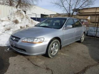 Used 1999 Honda Accord EX V6 AS IS for sale in St. Thomas, ON