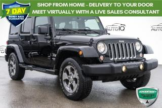 Used 2016 Jeep Wrangler Unlimited Sahara LOADED | DUAL TOP for sale in Innisfil, ON